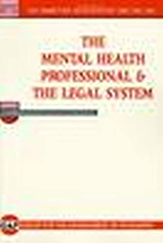 9780873186254: Mental Health Professional and the Legal System