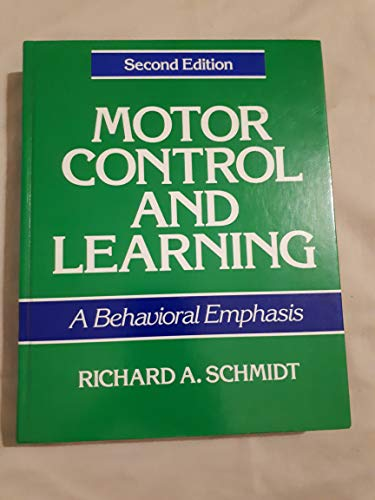 9780873221153: Motor Control and Learning: A Behavioral Emphasis