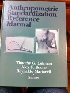 9780873221214: Anthropometric Standardization Reference Manual