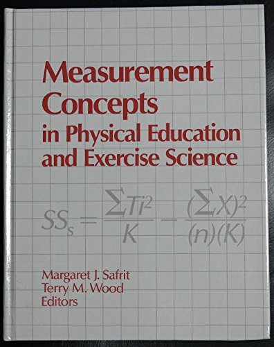 9780873222235: Measurement Concepts in Physical Education and Exercise Science