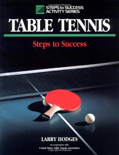 9780873224031: Table Tennis: Steps to Success (Steps to Success Activity Series)
