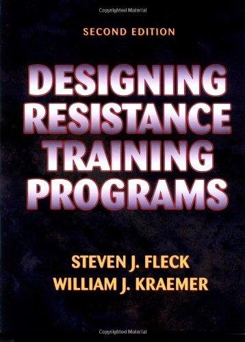 9780873225083: Designing Resistance Training Programmes