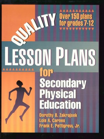 9780873226714: Quality Lesson Plans for Secondary Physical Education