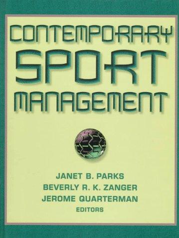 9780873228367: Contemporary Sport Management