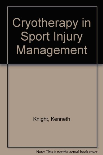 9780873228954: Cryotherapy for Rehabilitation (in Sport Injury Management) [VHS]