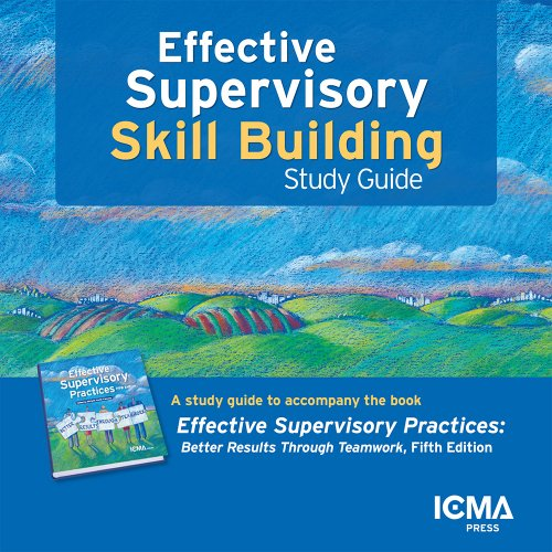 9780873267779: Effective Supervisory Skill Building: Study Guide