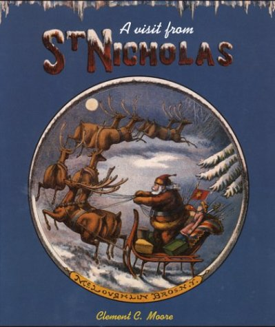 9780873281713: A Visit from Saint Nicholas (The Huntington Library Children's Classics)