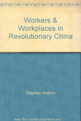 9780873320948: Workers & Workplaces in Revolutionary China (The China book project)