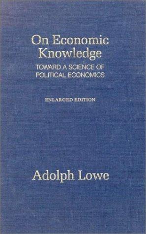 9780873321075: On Economic Knowledge