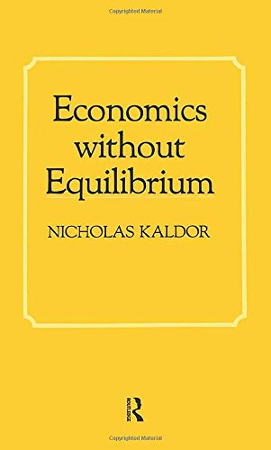 9780873323369: Economics without Equilibrium (The Arthur M. Okun memorial lectures)
