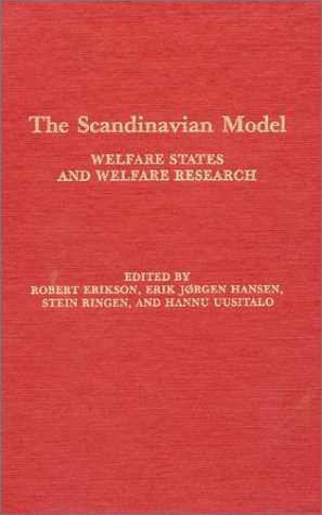 9780873323482: The Scandinavian Model: Welfare States and Welfare Research