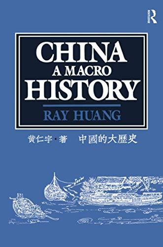 9780873324533: China: A Macro History (Murders])