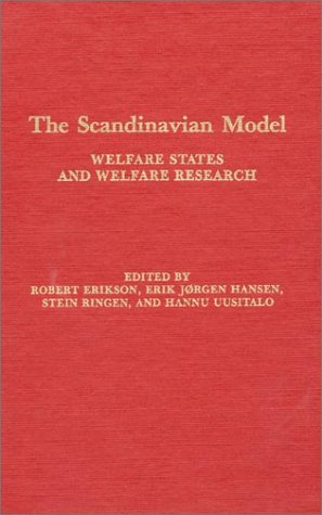 9780873325004: The Scandinavian Model: Welfare States and Welfare Research
