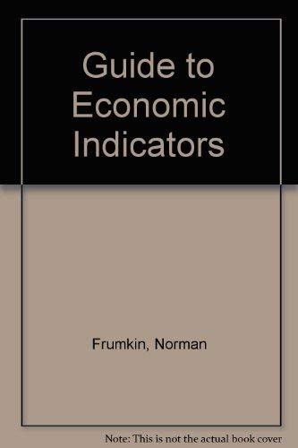 9780873325219: Guide to Economic Indicators