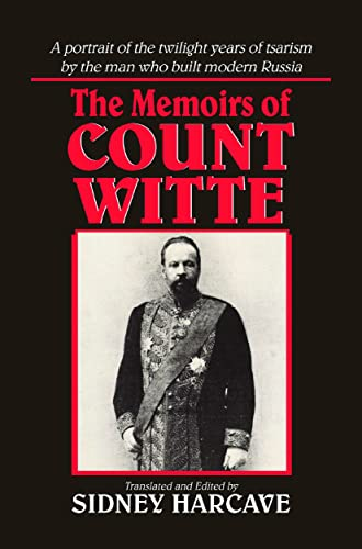 9780873325714: The Memoirs of Count Witte