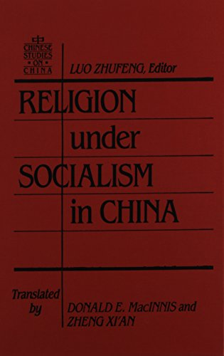 9780873326094: Religion Under Socialism in China (Chinese Studies on China)