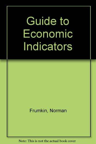 9780873326209: Guide To Economic Indicators