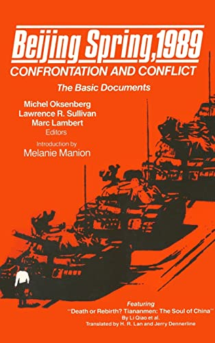 9780873326834: Beijing Spring 1989: Confrontation and Conflict - The Basic Documents