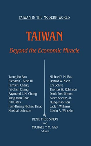9780873328791: Taiwan: Beyond the Economic Miracle (Contemporary China Papers)