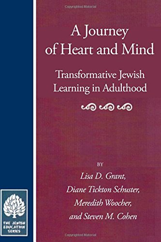 9780873340946: Journey of Heart and Mind: Transformative Jewish Learning in Adulthood