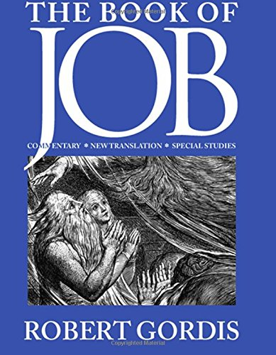 9780873341684: The Book of Job: Commentary, New Translation, Special Studies