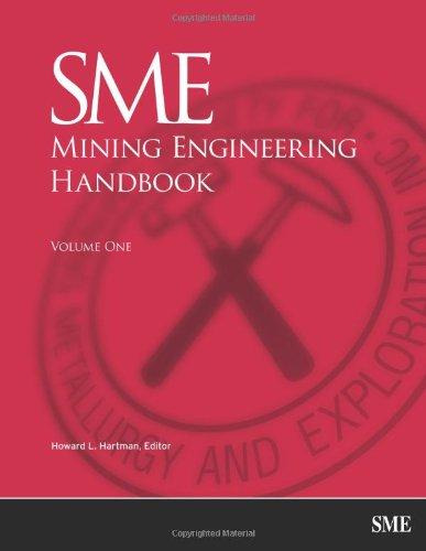 9780873351003: SME Mining Engineering Handbook
