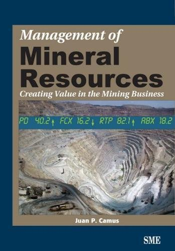 9780873352161: Management of Mineral Resources: Creating Value in the Mining Business
