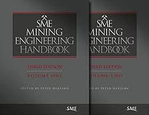 9780873352642: SME Mining Enginering Handbook, Third Edition, Volumes 1 & 2