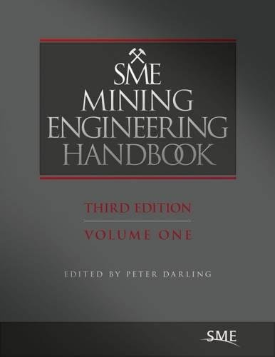 9780873352659: SME Mining Enginering Handbook, Third Edition