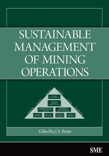 9780873352673: Sustainable Management of Mining Operations