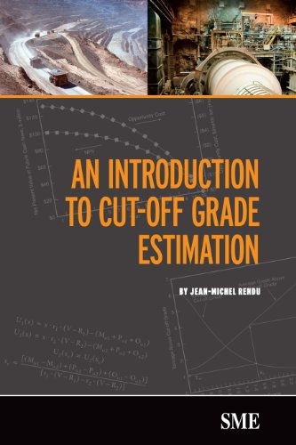 9780873352680: An Introduction to Cut-Off Grade Estimation