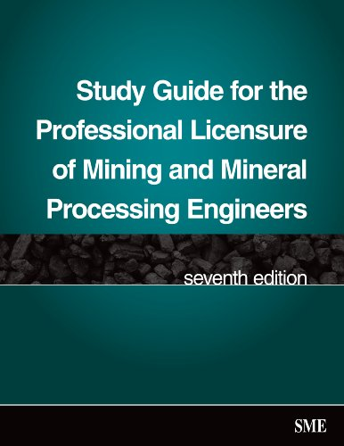 9780873352697: Study Guide for the Professional Licensure of Mining and Mineral Processing Engineers, Seventh Edition
