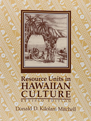 9780873360166: Resource Units in Hawaiian Culture