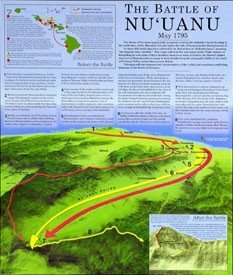 9780873360838: Poster - The Battle Of Nuuanu, May 1795