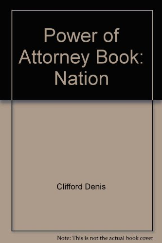 9780873370684: Power of Attorney Book: Nation