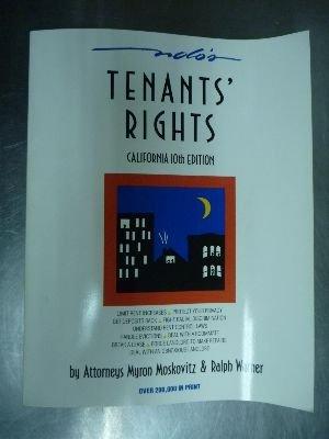 9780873371056: California tenants' handbook: Tenants' rights (California Tenant's Rights)