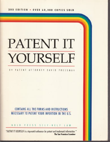 9780873371674: Patent It Yourself