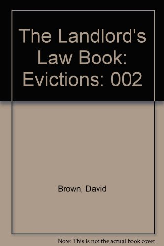 9780873371759: The Landlord's Law Book: Evictions