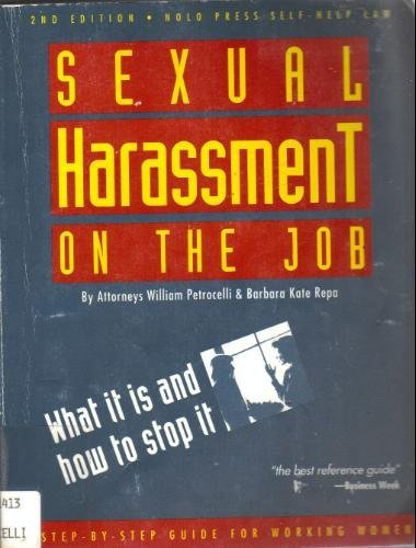9780873372657: Sexual Harassment on the Job