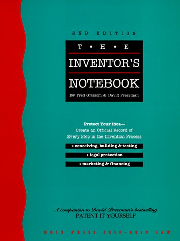 9780873373654: The Inventor's Notebook (Inventor's Notebook, 2nd ed)