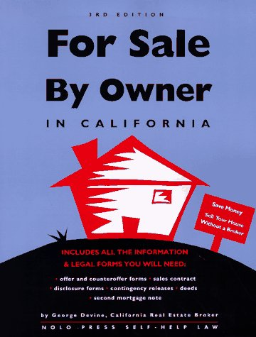 9780873373944: For Sale by Owner: In California (3rd Edition)