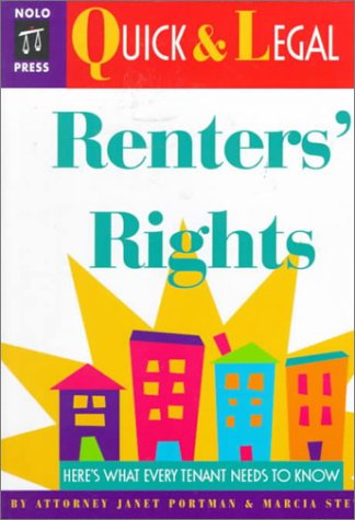 Renters' Rights (Quick & legal): Portman, Janet; Stewart, Marcia