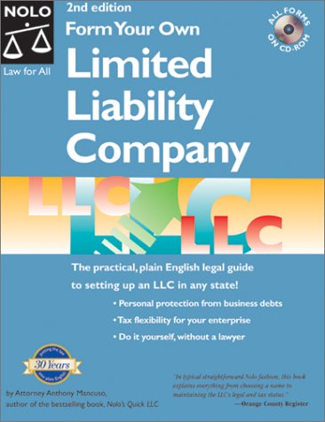 9780873374194: Form Your Own Limited Liability Company (2nd Ed.)