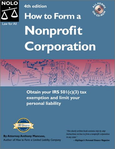 9780873374514: How to Form a Nonprofit Corporation (National Edition)