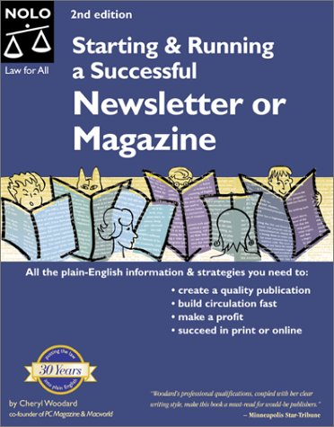 9780873374613: Starting & Running a Successful Newsletter or Magazine