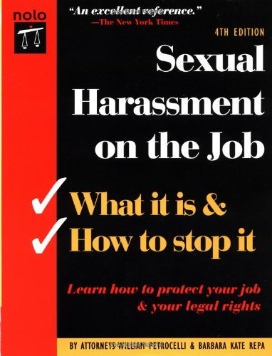 9780873374842: Sexual Harassment on the Job: What It Is & How to Stop It
