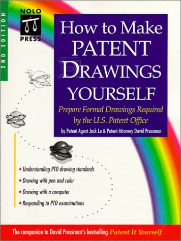 9780873374910: How to Make Patent Drawings Yourself : Prepare Formal Drawings Required by the U.S. Patent Office, 2nd Ed