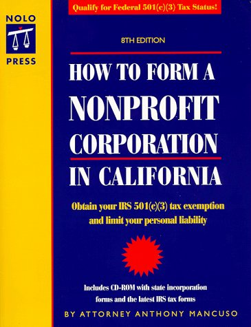 9780873375030: How to Form a Nonprofit Corporation in California