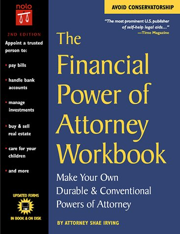 9780873375221: The Financial Power of Attorney Workbook: Make Your Own Durable & Conventional Powers of Attorney