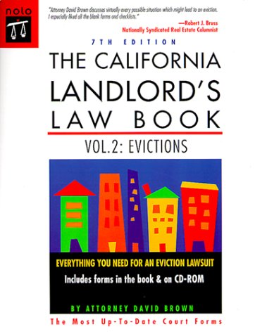 9780873375436: The California Landlord's Law Book: Evictions (California Landlord's Law Book. Vol 2 : Evictions, 7th ed)
